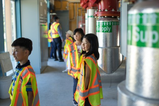 Kid's tour of the Alexandra District Energy Utility Centre