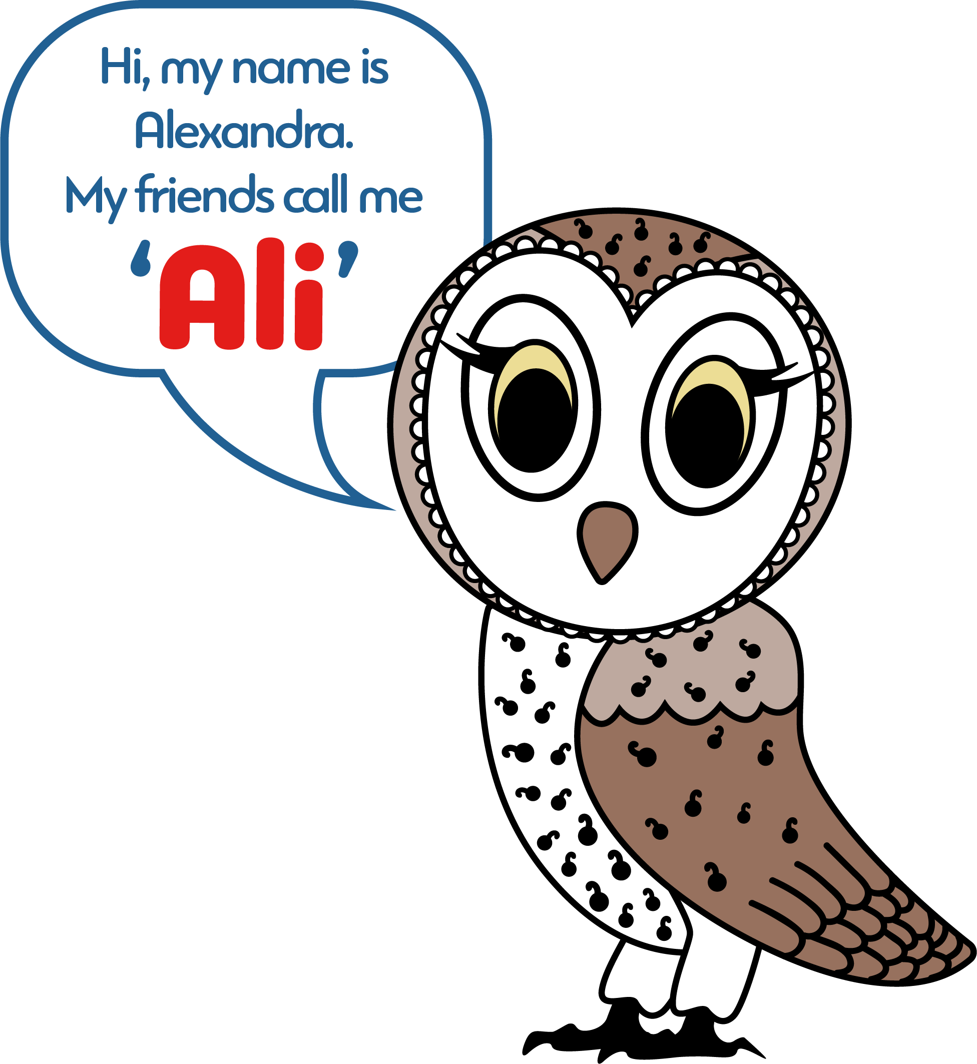 Ali the Barn Owl